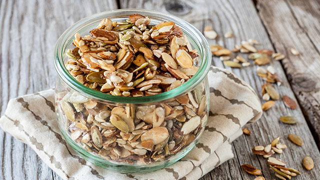 DIY Nut & Seed Trail Mix