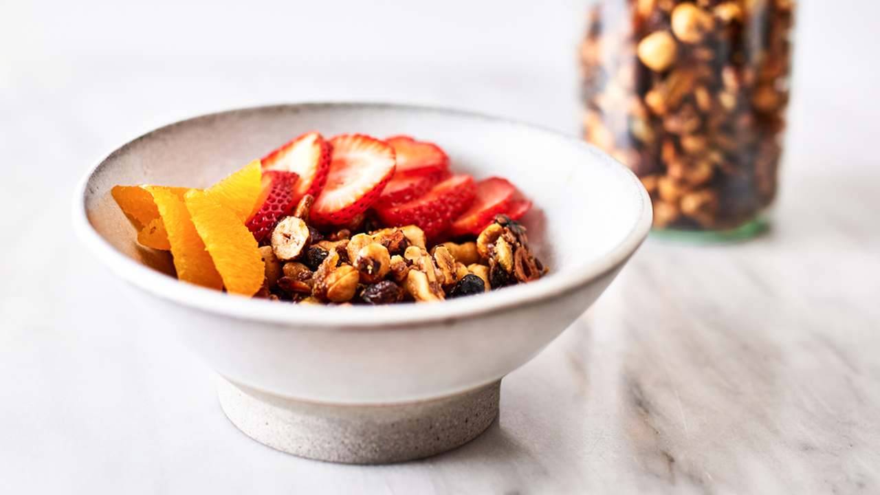 Grain-Free Nutty Granola