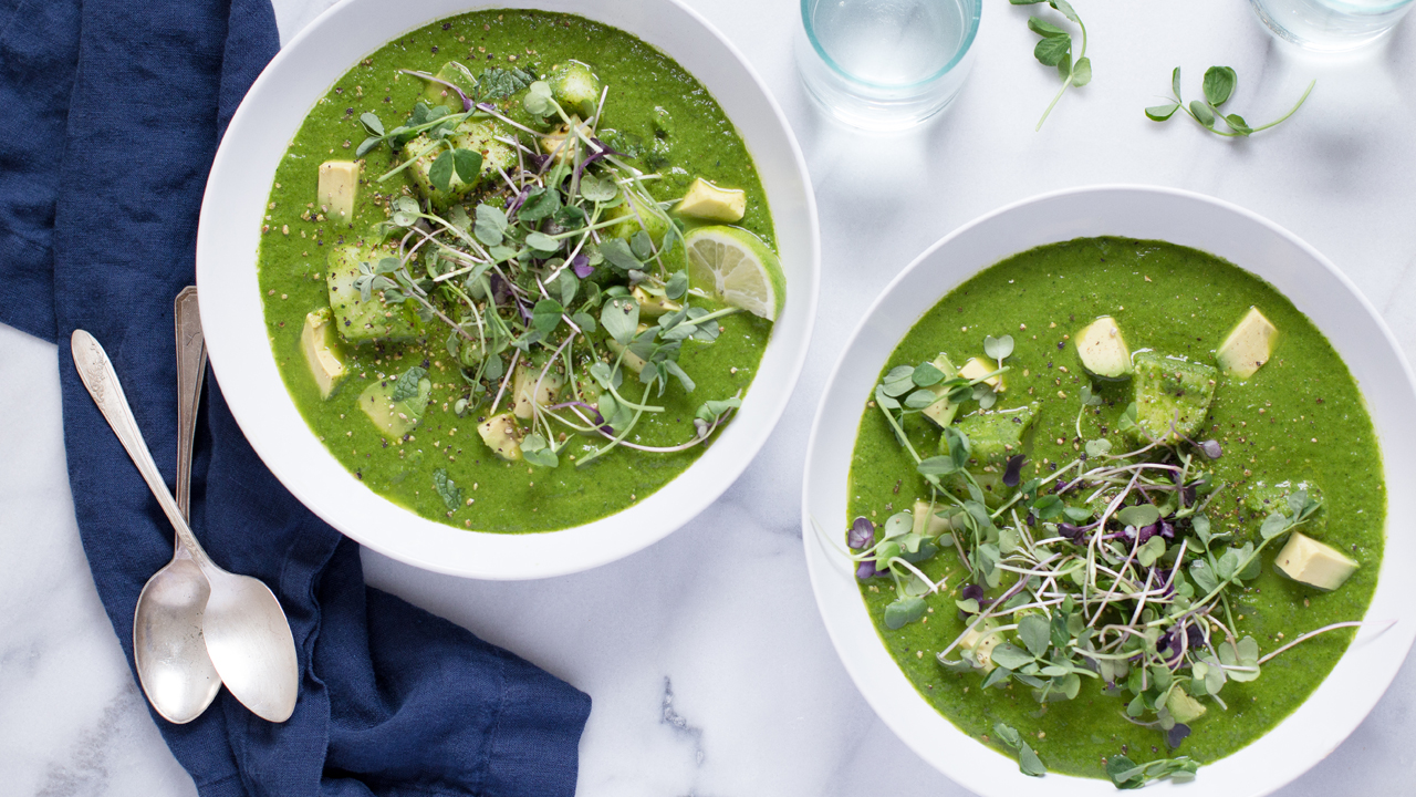 Spring-Herb Soup