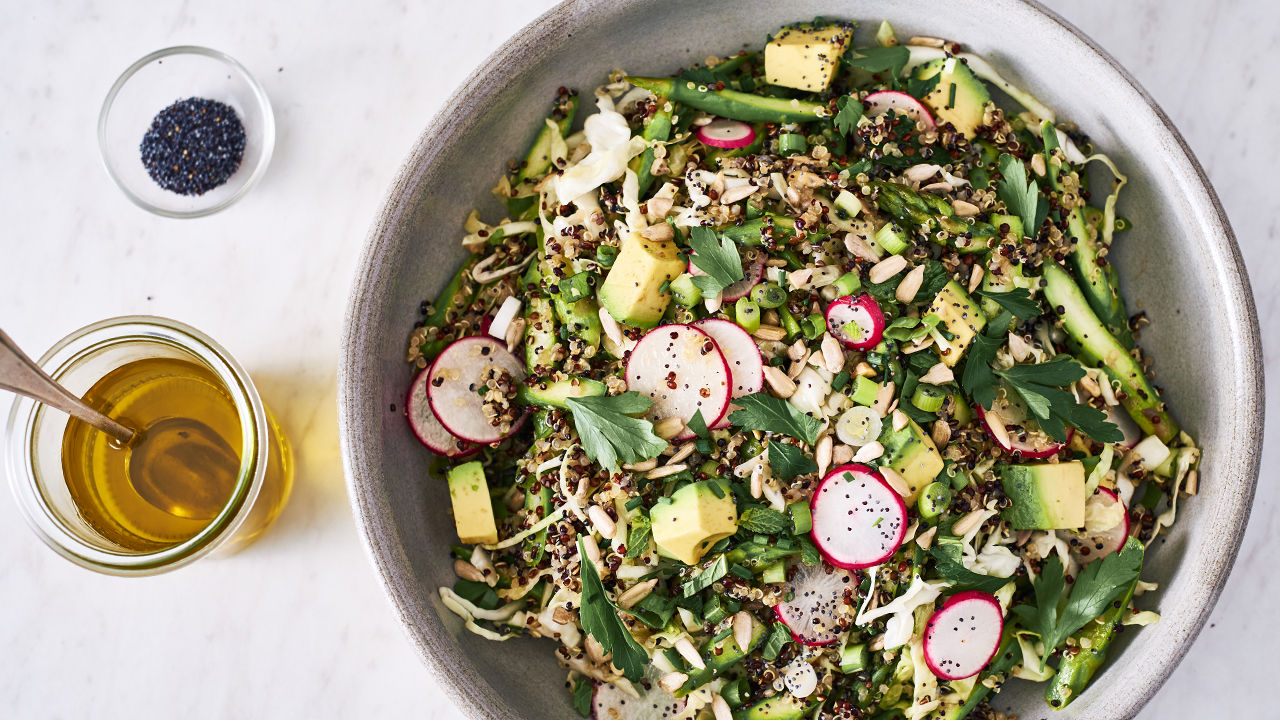Herb, Vegetable + Quinoa Salad