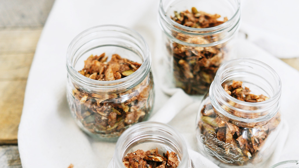 OUR NEW FAVORITE GRANOLA IS FROM OUR NEW FAVORITE COOKBOOK
